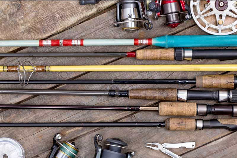 Fishing rod materials