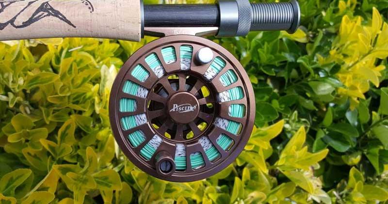 Fly fishing reel diameter