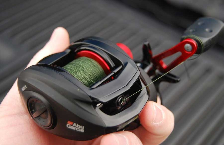 Braided line on baitcaster