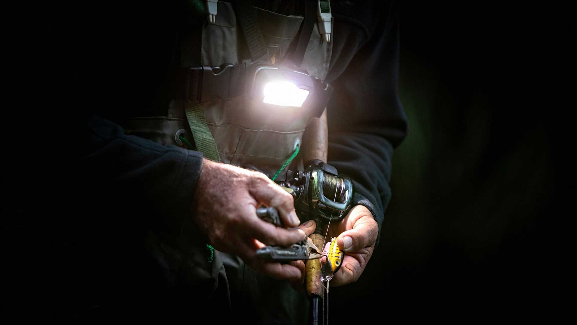 fishing headlamp